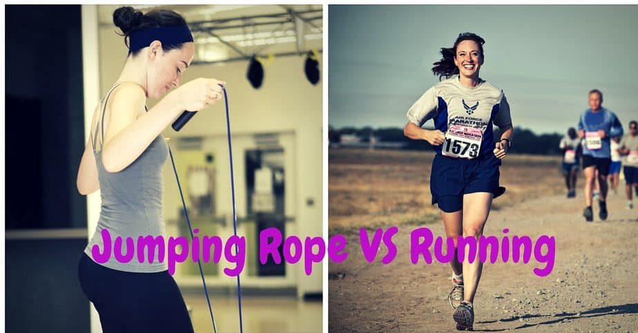 Jumping Rope VS Running