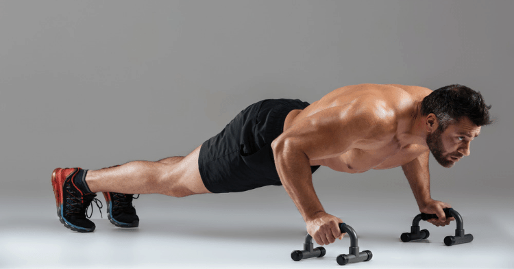 push up bars benefits