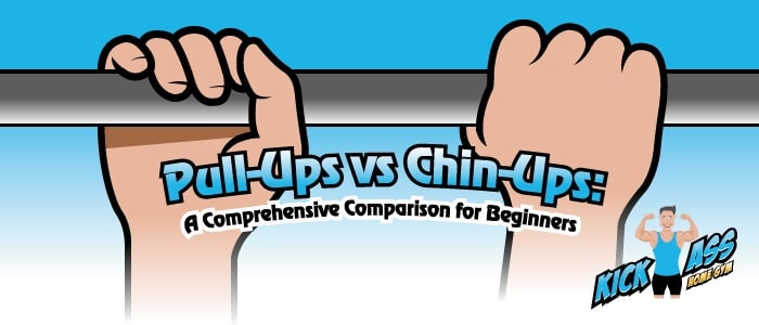 Pull Ups vs Chin ups blog header