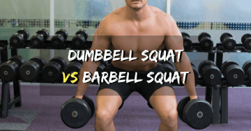 Dumbbell squat vs Barbell squat