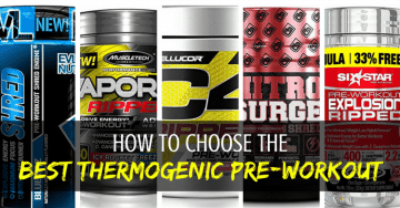 best thermogenic pre workout supplement