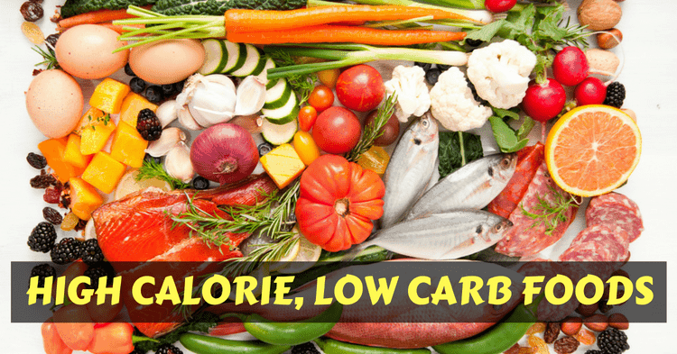 high-calorie-low-carb-foods
