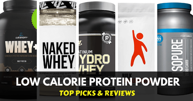the best low calorie protein powders