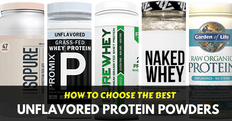 best unflavored protein powders