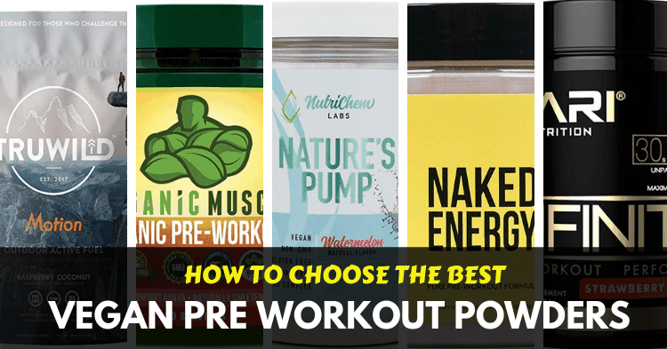 best vegan pre workout powders