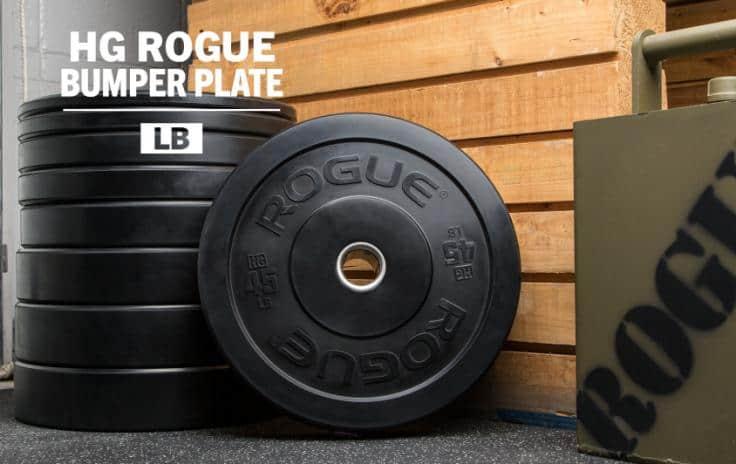hg rogue bumper plates