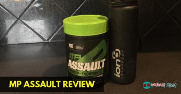 musclepharm assault pre workout review