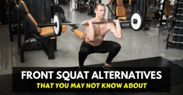 front squat alternatives