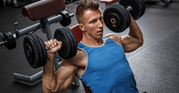 shoulder superset workout