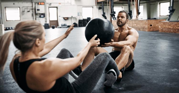 medicine ball partner exercises
