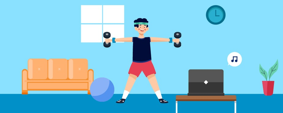 1. Introduction Working Out From Home
