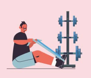 2. Weights, resistance bands etc.