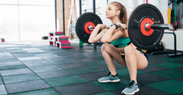 wrists hurt during front squats
